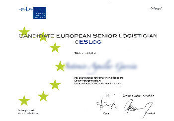 Certificado CESLOG