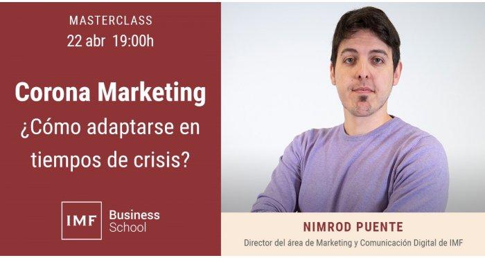 Corona Marketing - ¿Cómo adaptarse en tiempos de crisis?