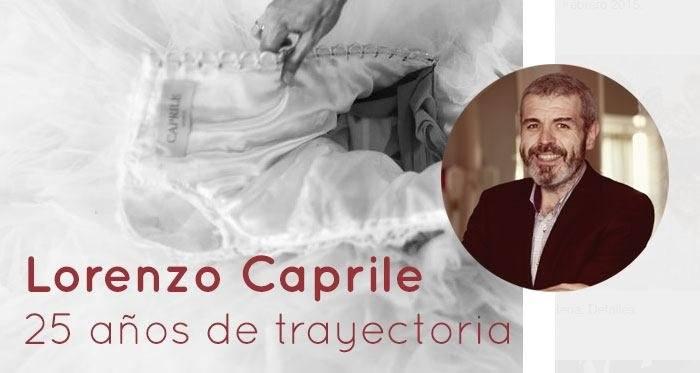 Lorenzo Caprile: 25 años de trayectoria
