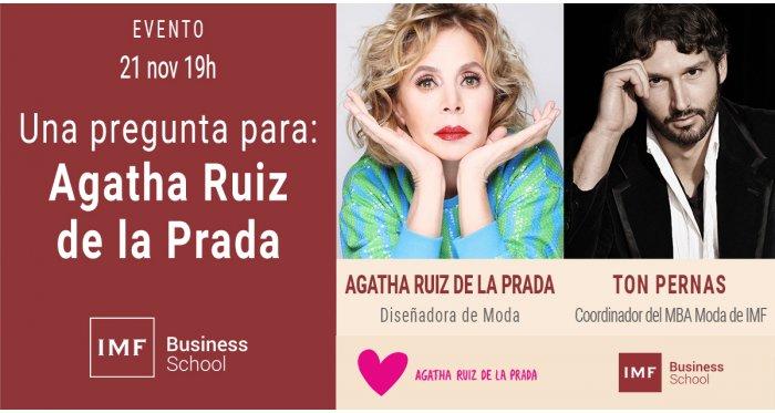 Una pregunta para: Agatha Ruiz de la Prada