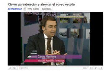Carlos Martínez, director general de IMF, ofrece unas pautas para detectar el acoso escolar