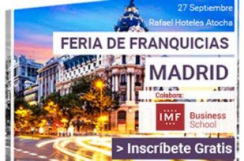 IMF colabora en la Feria de franquicias Madrid 2017