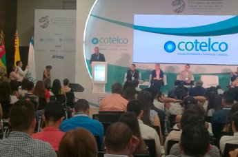 IMF en el Congreso de Jóvenes Lideres en Turismo en Colombia