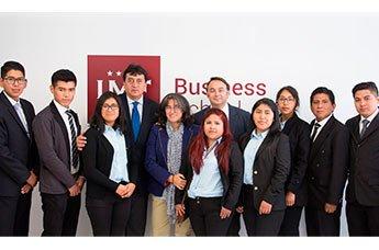IMF abre sus puertas a los alumnos del programa 'Puedes creer' de Bolivia