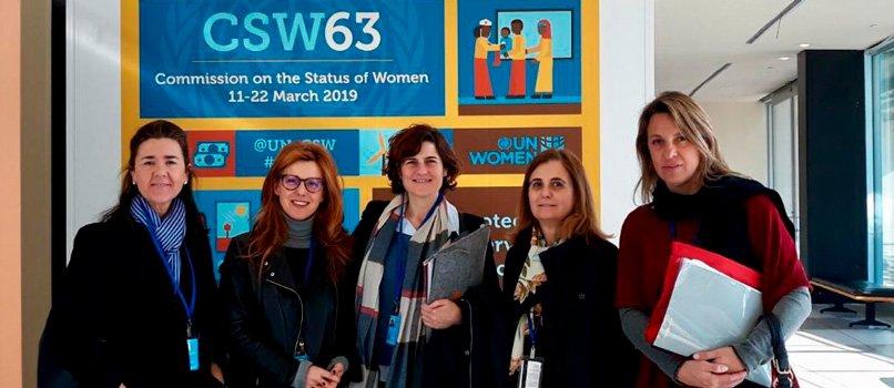 IMF participa en un debate sobre la maternidad y empleo en Nueva York