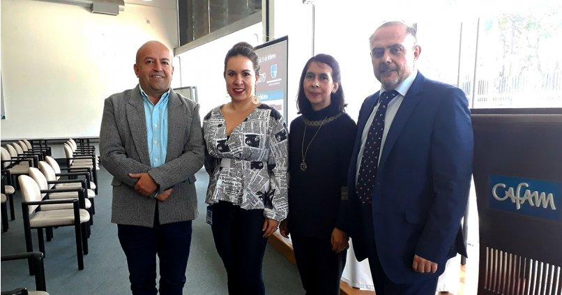 IMF imparte una conferencia en la Fundación Universitaria Cafam
