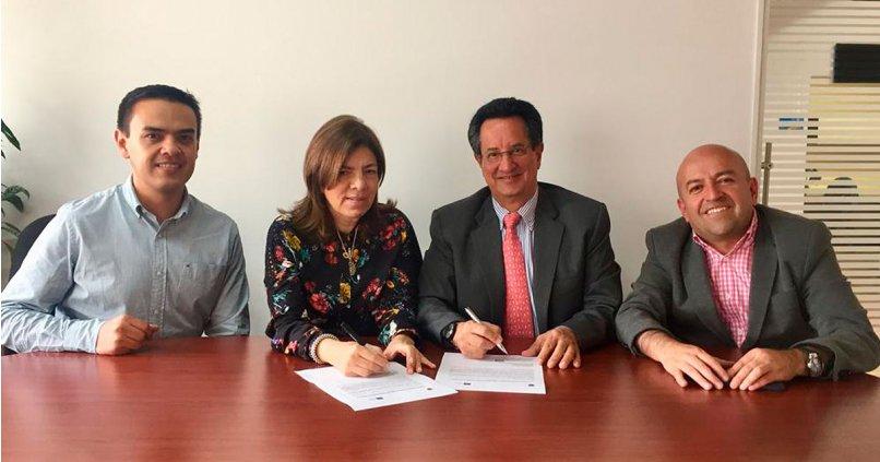IMF firma un acuerdo de cooperación con el Politécnico Internacional de Colombia