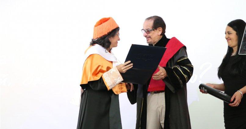 Belén Arcones, Directora General de IMF, nombrada Profesora Honoraria por UIDE