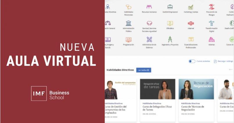 IMF introduce innovaciones en su campus virtual