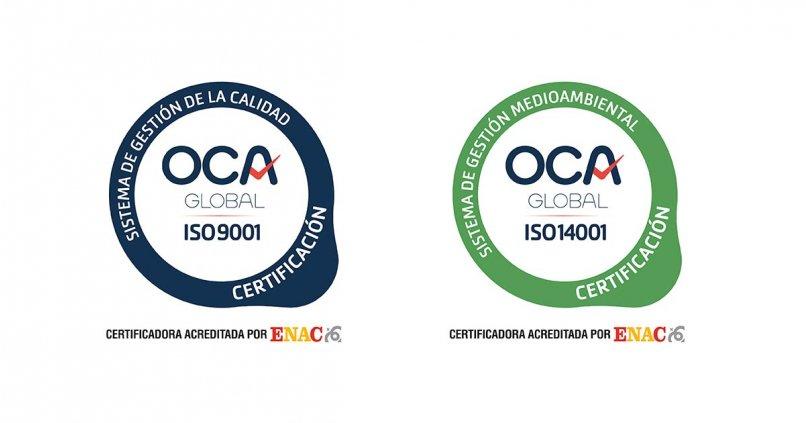 IMF renueva sus sellos ISO 9001 y 14001