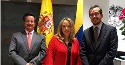 Reunion embajada Colombia