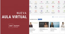 IMF introduce innovaciones en su campus virtual