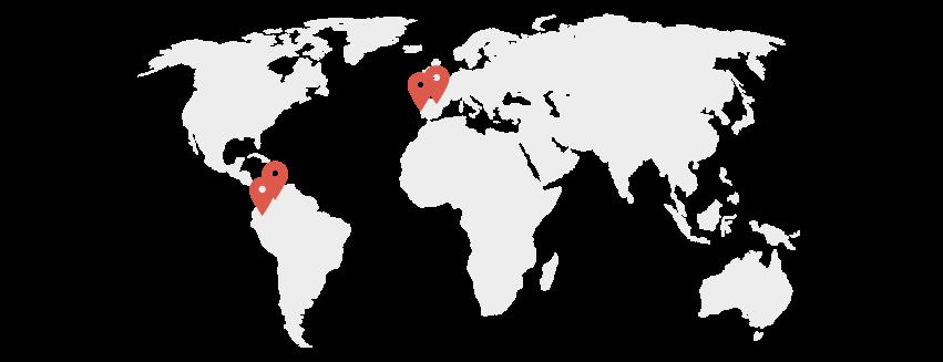 Sedes internacionales