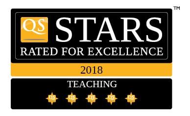 QS Stars de 5 estrellas en Enseñanza